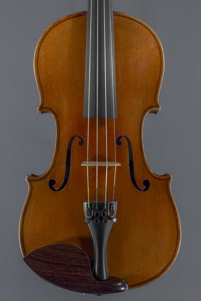 Manufactured violin, early 20th Century thumbnail
