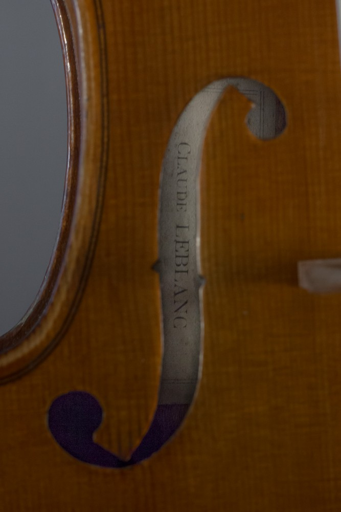 06 violon Claude Leblanc