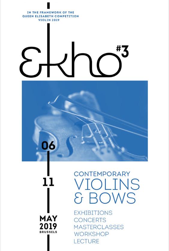 Post thumbnail We exposeren op Ekho#3: tentoonstelling van hedendaags vioolbouwer en strijkstok bouwer